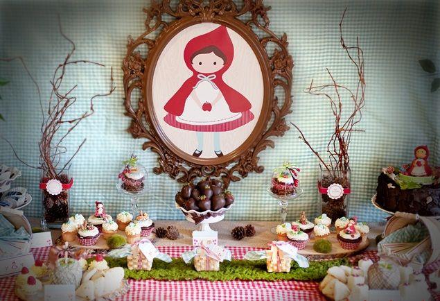 Decoraciones de caperucita roja buscar con google - Decoracion fiesta 18 cumpleanos ...