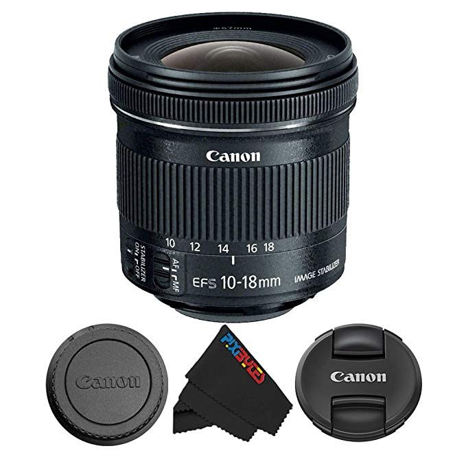 Canon Ef S 10 18mm F 4 5 5 6 Is Stm Lens For Canon Dslr Cameras Pixibytes Microfiber Cleaning Cloth Review Canon Dslr Camera Canon Dslr Canon Lens