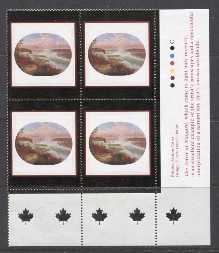 Canada #1863 95c 2000 Art Canada  LR Inscription Block NF/DF Paper - VF-80 NH | eBay