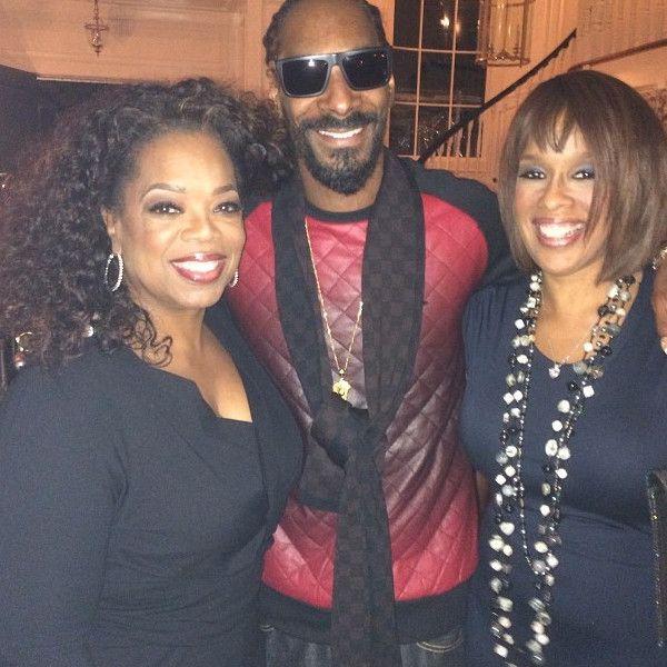 Oprah Winfrey, Gayle King, Snoop Dogg