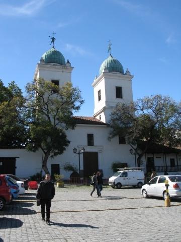 Los Dominicos - MY favorite church in Santiago!