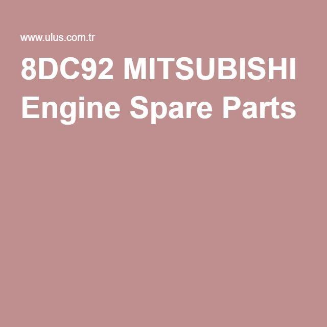 8DC92 MITSUBISHI Engine Spare Parts