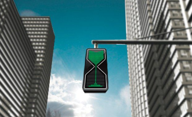 Amazing Inventions Hourglass Traffic Lights | www.piclectica.com #piclectica