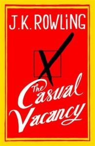 JK Rowling new book, her first novel for adults, is available Sept 27, 2012.
