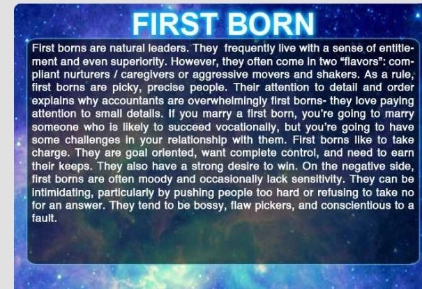 The Order You Were Born And Your Characteristics #Musely #Tip
