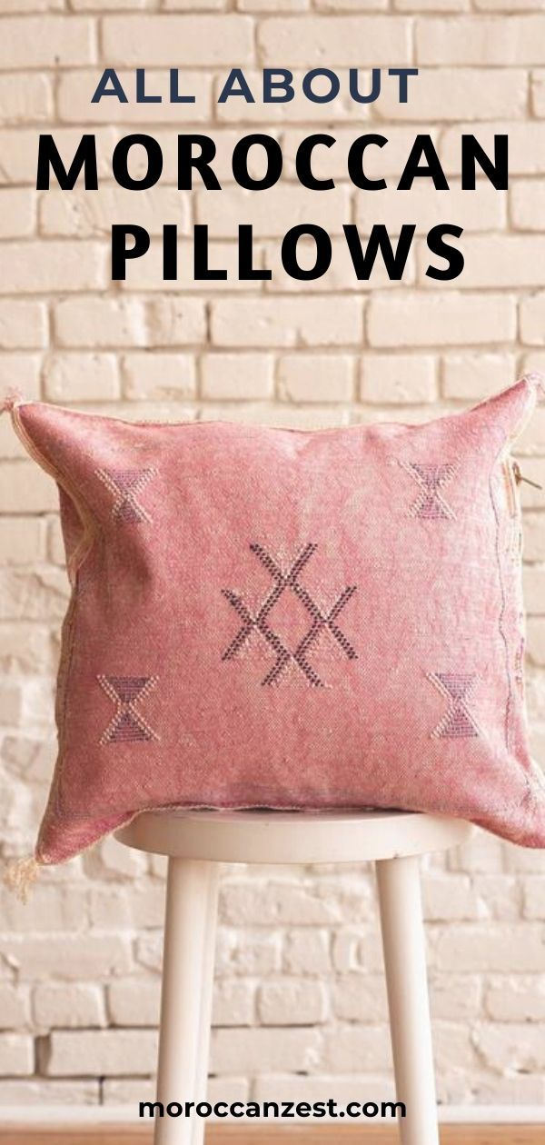 All About Moroccan Pillows Cushions In 2020 Moroccan Pillows