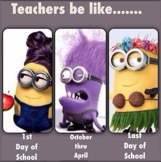 Yeah... my teachers are most DEFINITELY on the second stage lol