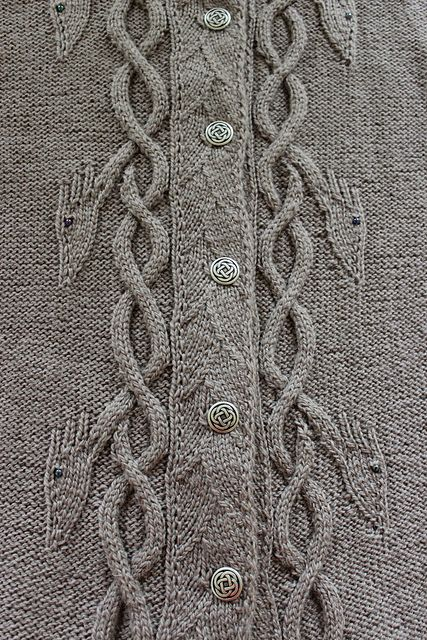 Ravelry: Dancing Dragons Coat pattern by Heike Campbell - totally love this