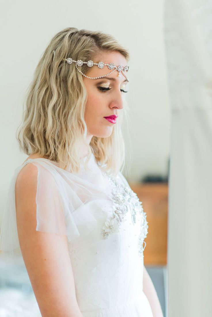 images about bridal hair and accessories and then there were none a contemporary art deco inspired bridal shoot
