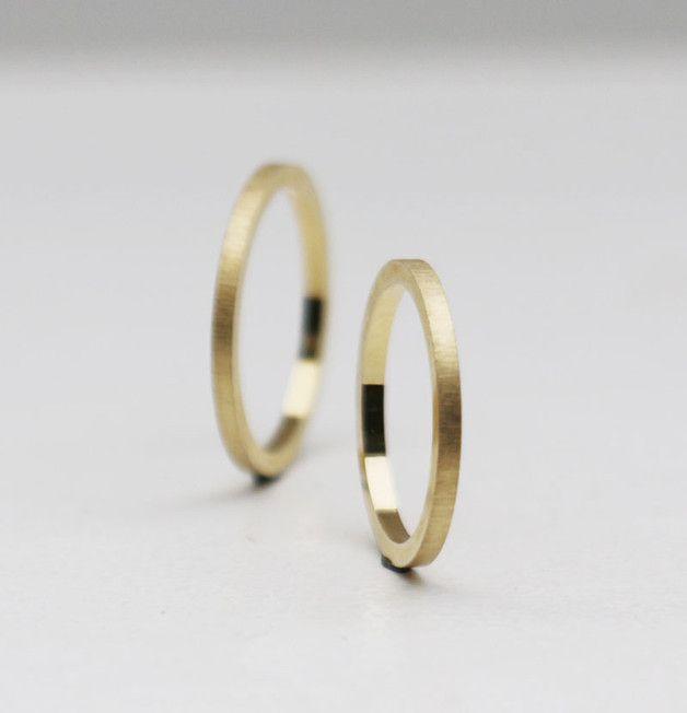 Einzeln, als Paar oder gleich mehrere Ringe, diese Ringe sehen immer toll aus!  Das Bild zeigt ein Produktbeispiel. Die Ringe werden neu nach der Bestellung angefertigt. Eventuelle Abweichungen...