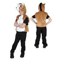 Pony Başlı Yelek Kostüm, 5-7 Yaş