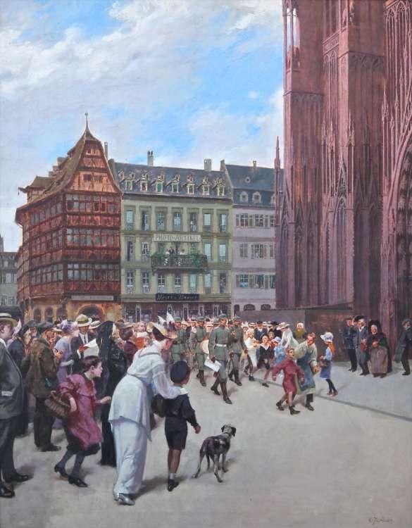 Les 311 meilleures images propos de peintres alsaciens - Residence les jardins d alsace strasbourg ...
