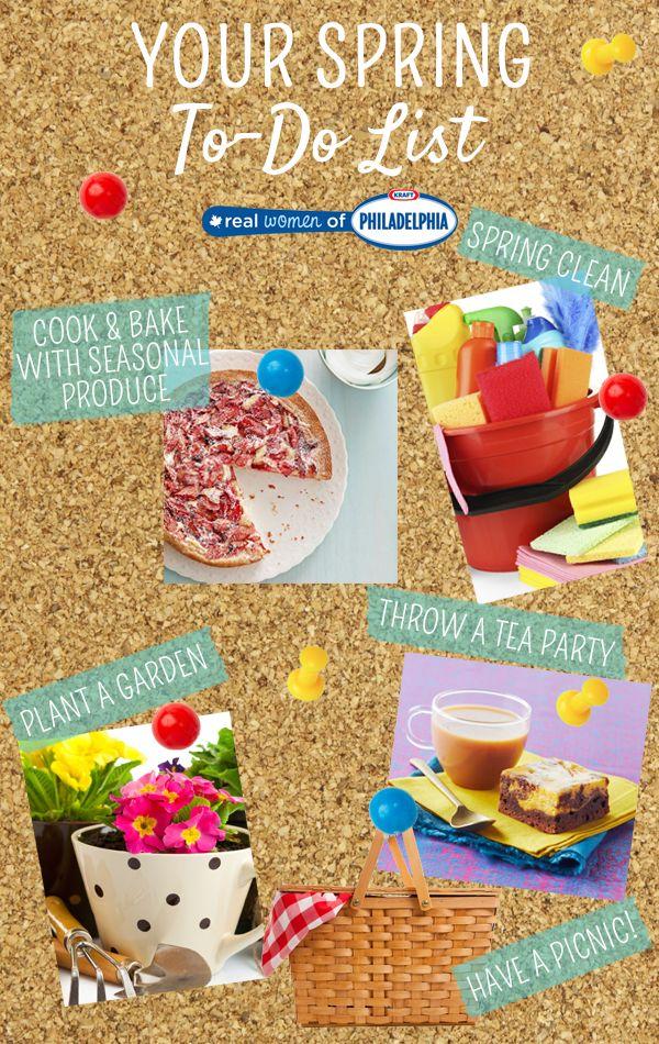 5 fun things to do this spring! #DIY #Spring #Food