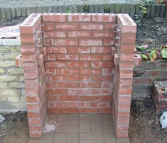 how to build a brick barbeque 11
