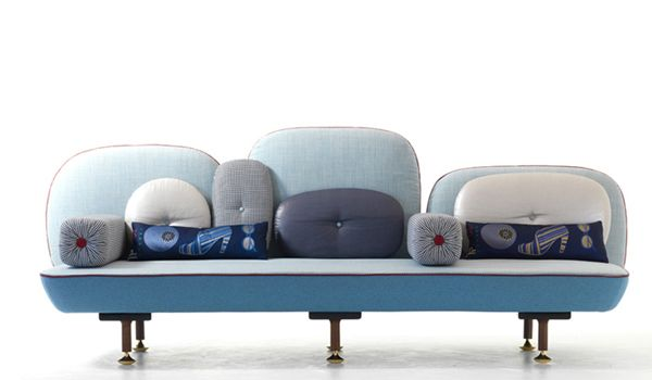 Doshi Levien sofa, titled My Beautiful Backside.