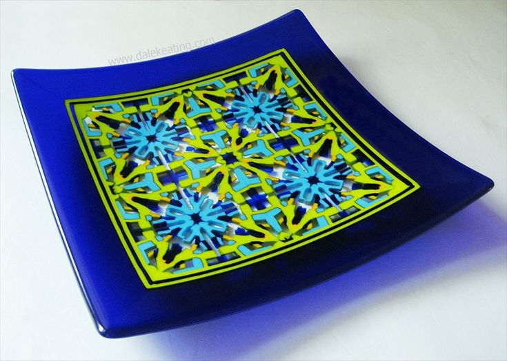 Fused Glass - http://www.dalekeating.com/Fused_Glass.php