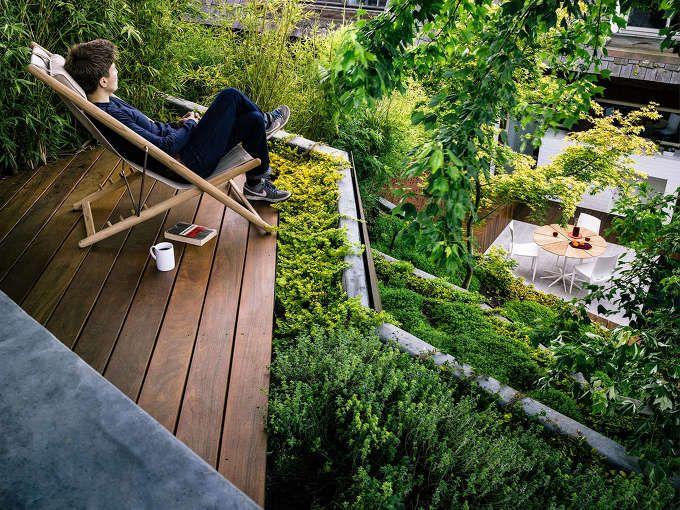 *매력적인 후정 랜드스케이프 [ Mary Barensfeld Architecture ] Hilgard Garden :: 5osA: [오사]
