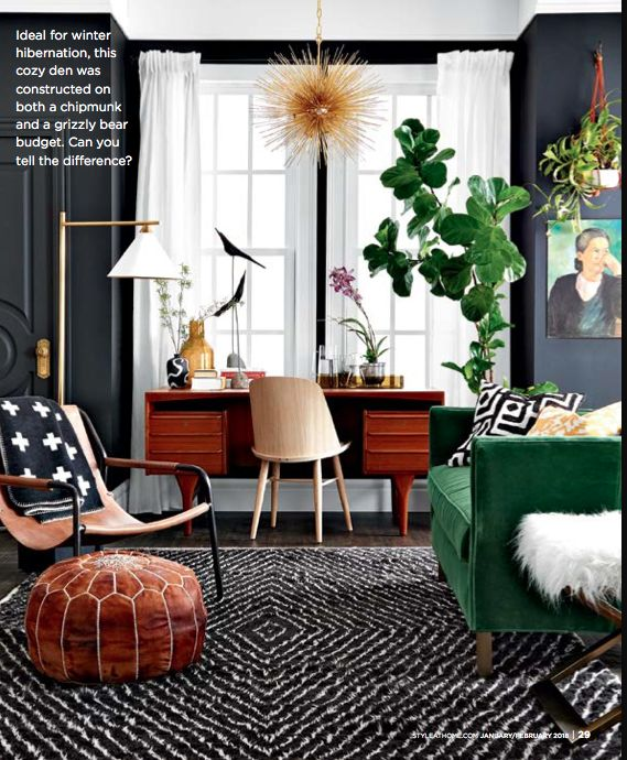 Living room shot for @styleathome by #michaelnangreaves.com