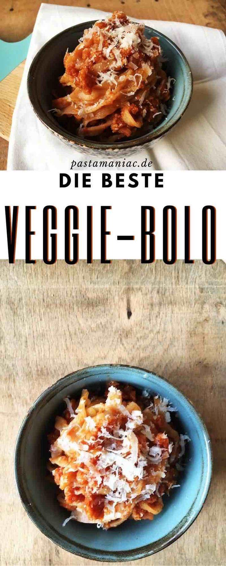 Die beste vegetarische Bolognese-Sauce der Welt! Versprochen.   #pasta #nudeln #bolognese #rezept