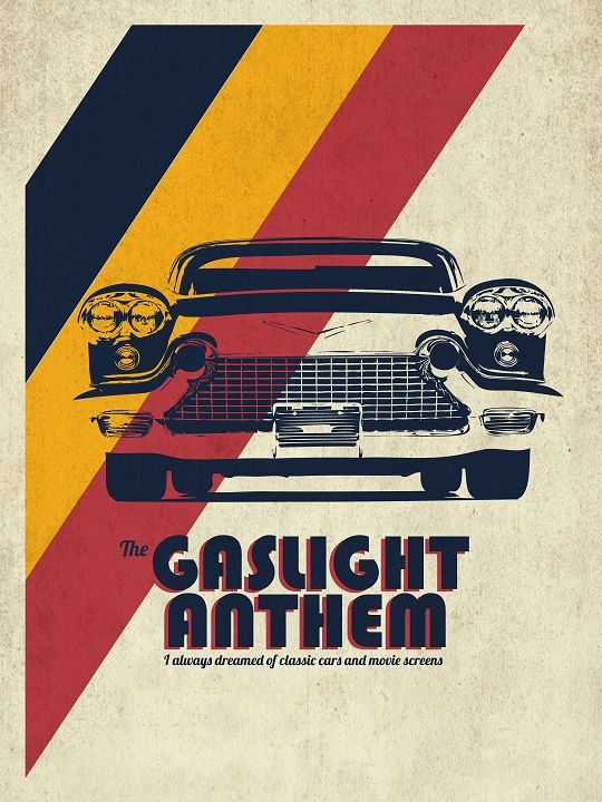 The Gaslight Anthem band poster