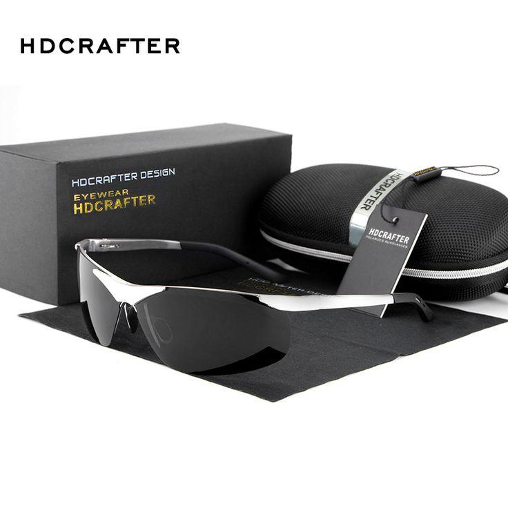 High Quality Aluminum Magnesium Sports Sunglasses Men Luxury Brand Polarized Outdoor Sun Glasses UV400 Eyewear with Case Gafas