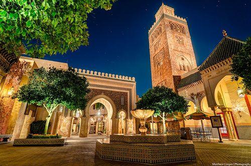 EPCOT - Moroccan pavilion