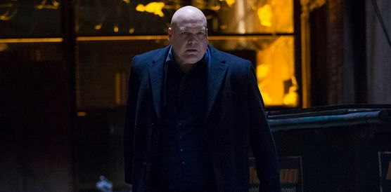 Based on the pictures alone, Marvel made the right choice in casting Vincent D'Onofrio as the gangster supervillain in 'Daredevil' known as Wilson Fisk, aka The Kingpin.
