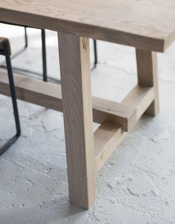 Wooden Table #woodentable Design by VanGijs - Shop online