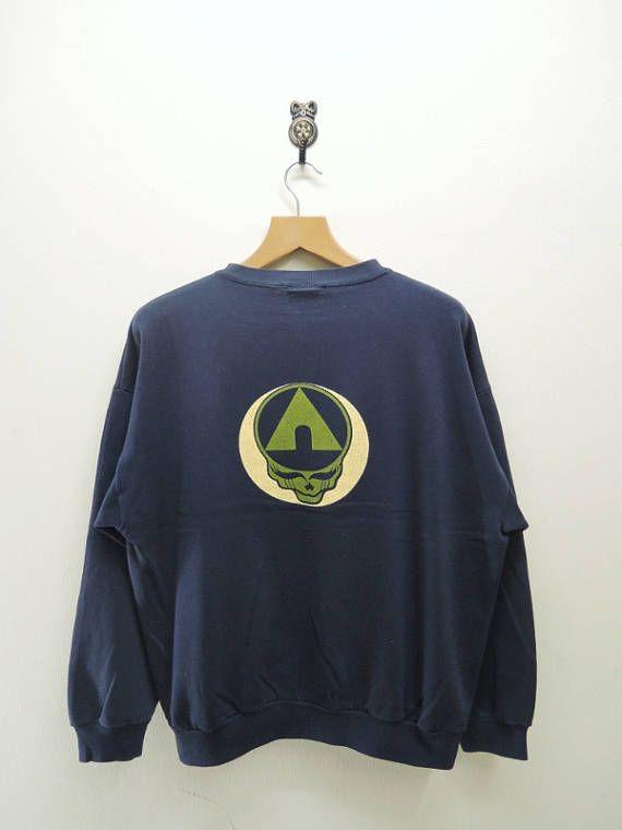 Vintage Airwalk Skull Head Sweatshirt Skate Tony Hawk Street