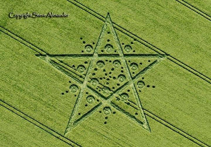 Hay más cosas en el cielo y en la Tierra ...: LOS MÁS RECIENTES CROP CIRCLE - CÍRCULOS EN LAS CO...
