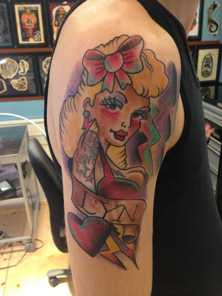 Pinterest pinup tattoo!