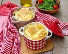 Gratin de polenta au beaufort   Cuisine AZ