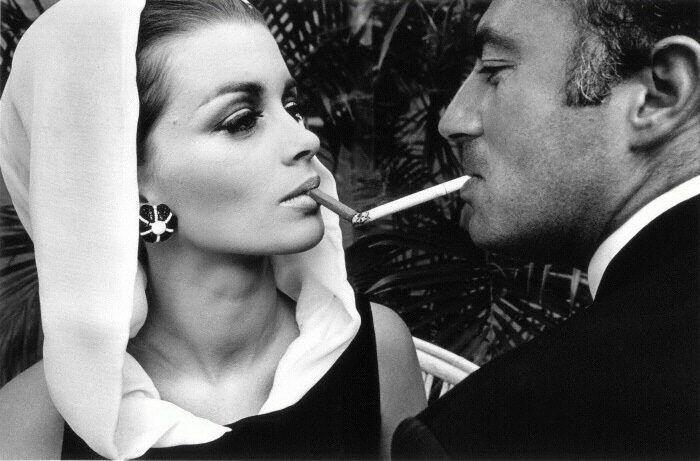 "Fotógrafo: Jeanloup Sieff   Foto: ""Chic is...""  Motivo: Para la revista Harper's Bazaar.  Lugar: Palm Beach, 1964"
