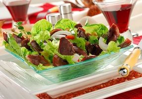 Salade de gésiers confits - Recettes - Cuisine française
