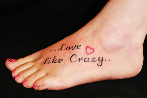 Love like crazy tattoo design tattoo patterns