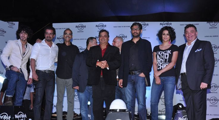 Subhash Ghai, Rishi Kapoor and other stars