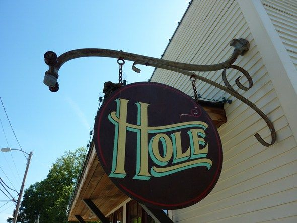 Little doughnut shop in West Asheville called Hole #asheville #northcarolina