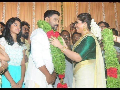 Actor Dileep and Kavya Madhavan get married | Dileep Kavya Wedding Photos | Tamil Cinema News - YouTube