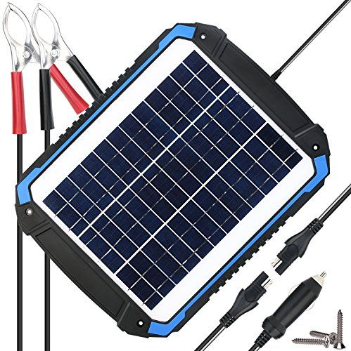 Suner Power 12v Solar Car Battery Charger Maintainer Https Www Amazon Com Dp B07dffvr5m Ref Cm Sw R Solar Car Car Battery Charger Solar Panel Charger