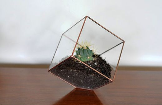 Small terrarium by ABJ Glassworks at Etsy.