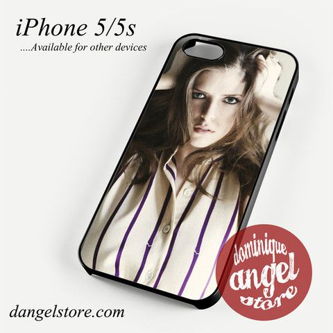 Anna Kendrick Phone Case for iPhone 4/4s/5/5c/5s/6/6s/6 Plus