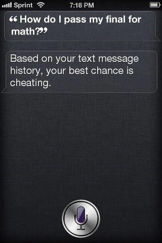 Best Siri Joke Ever? -