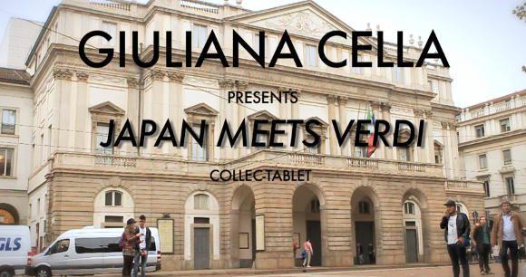 Teatro alla Scala Japan Meets Verdi Collezione dedicata al Giappone e presentata al Grand Hotel Et De Milan all'inaugurazione della Prima della Scala (La Traviata di Giuseppe Verdi) in concomitanza del bicentenario dalla morte del compositore.