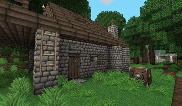 Ovo's Rustic Texture Pack para Minecraft 1.3.1
