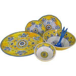 benidorm le cadeaux melamine dinnerware - Melamine Dishes