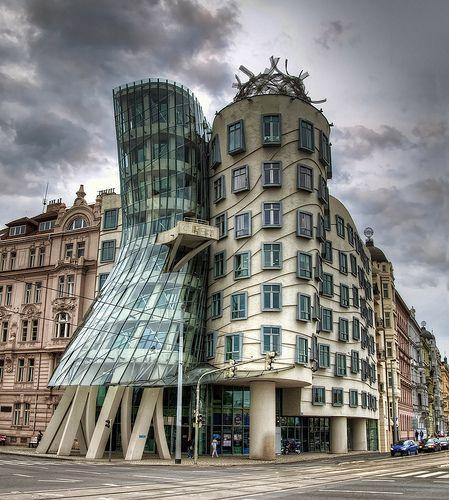 The Dancing House (Tančící dům), Prague | Czech Republic #jetsettercurator