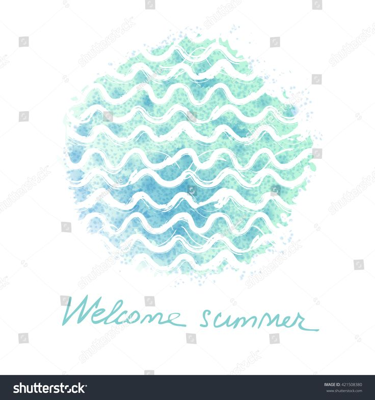 Vector watercolor hand drawn background with sea waves. Summer universal card with doodle watercolor texture watercolor, wave, graphic, ocean, vector, water, abstract, art, backdrop, banner, beautiful, blue, bright, card, color, decor, decoration, decorative, design, doodle, drawing, drawn, element, hand, illustration, image, landscape, liquid, modern, natural, nature, paint, pattern, ripple, sea, shape, sky, splash, storm, style, summer, swirl, template, texture, travel, universal…