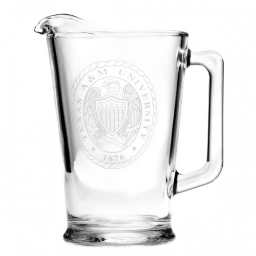 Love this pitcher with the Aggie Ring design on the front