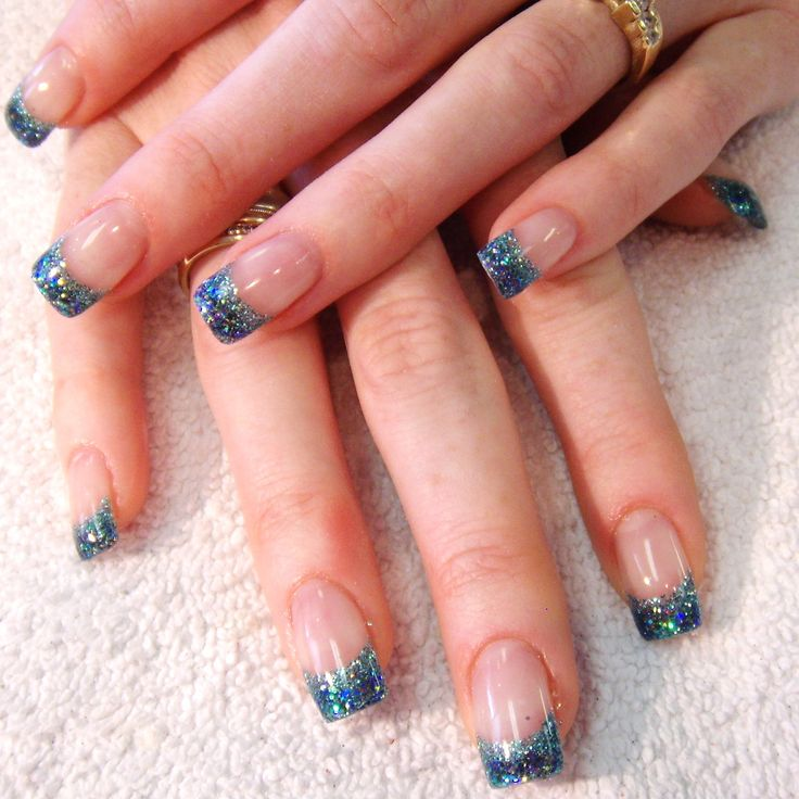 Very nice!  These are uv nails using builder gel to make all the nails look the same size.  We don't always have perfect nails...