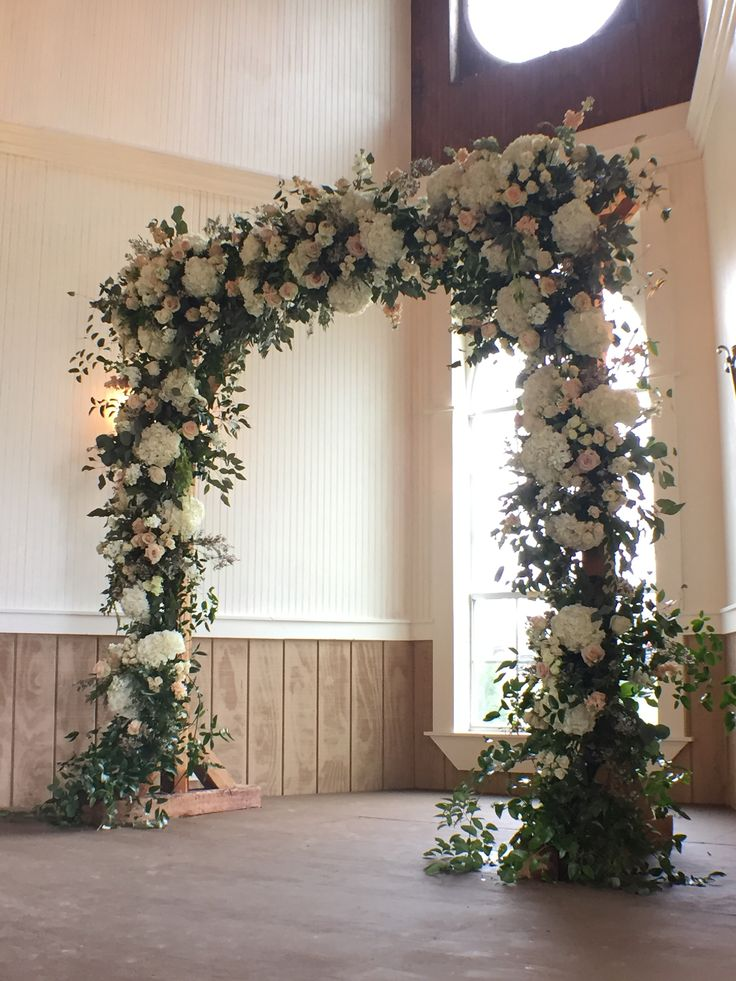 floral arch by A1 Wedding flowers, Floral arch, Real